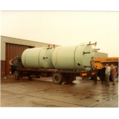 Circa 1982-3 16 Tonne Flatbed XVS 358S with large tanks
